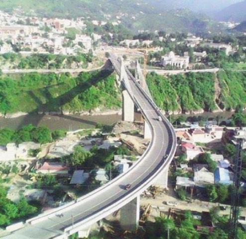 EQ Memorial Bridge, Muzaffarabad.—Serra