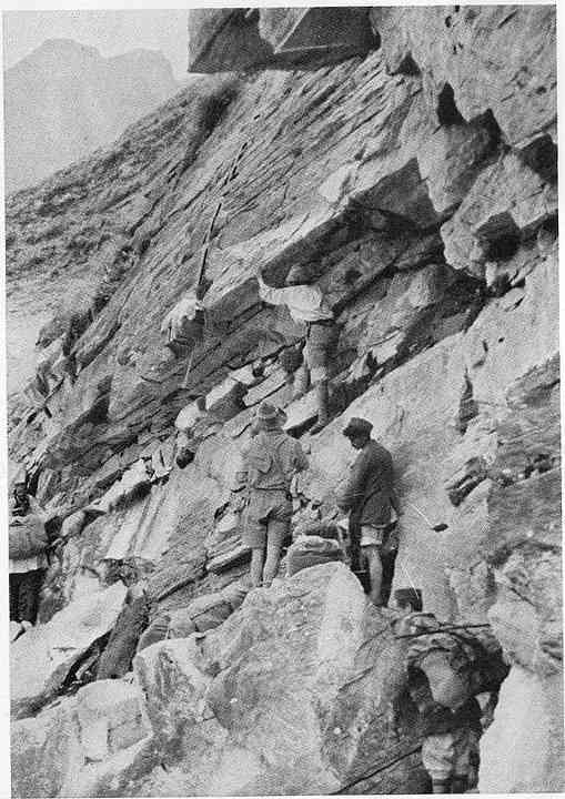Eric Shipton and Bill Tilman on the 1934 Nanda Devi expedition.