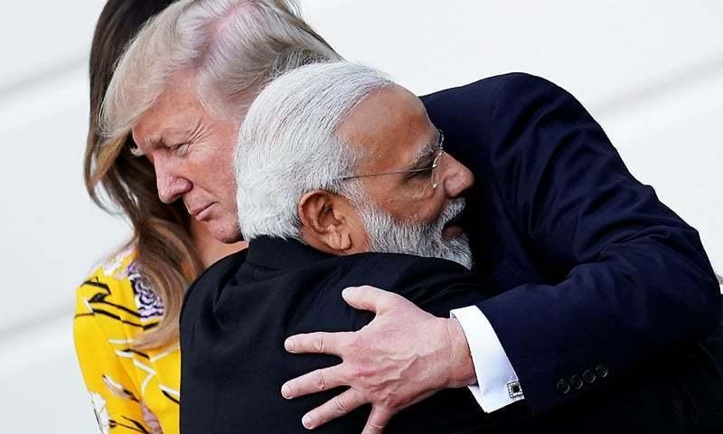 بھارتی وزیراعظم نے 2017 میں امریکا کا دورہ کیا تھا—فائل/فوٹو:رائٹرز