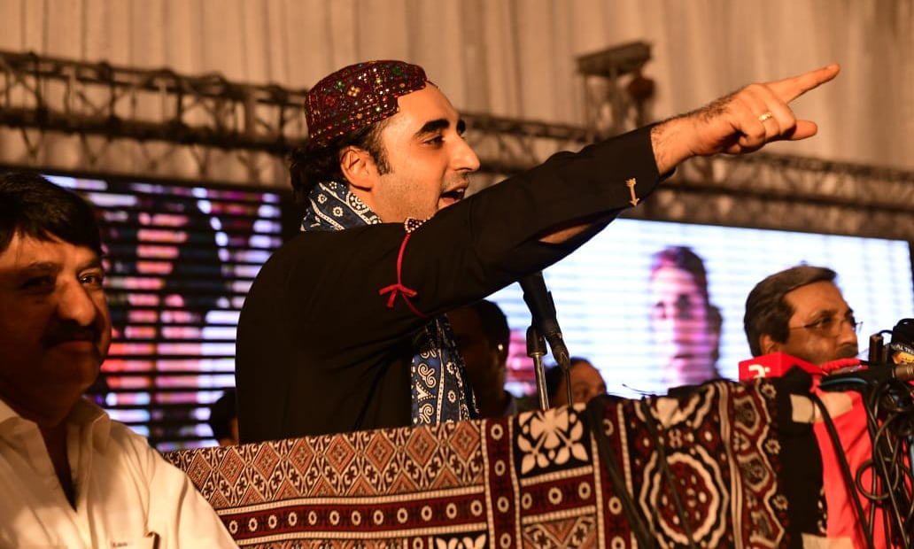 """Will always provide constructive criticism when needed but will always support,"" said PPP Chairperson Bilawal Bhutto Zardari. — PPP Twitter/FIle"