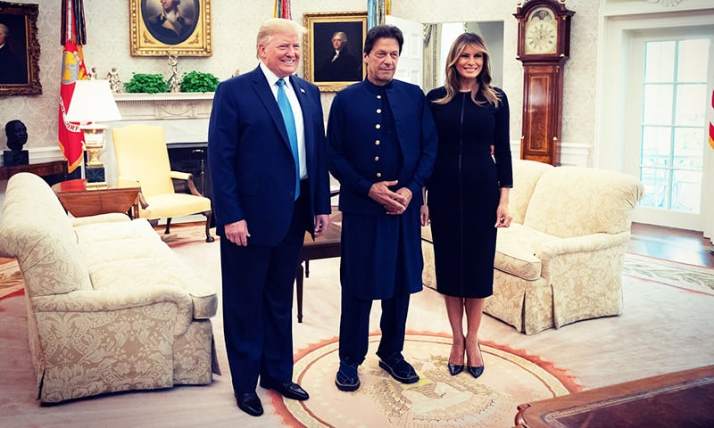 PM thanks Trump for hospitality, says Pakistan 'will do everything' to facilitate Afghan peace