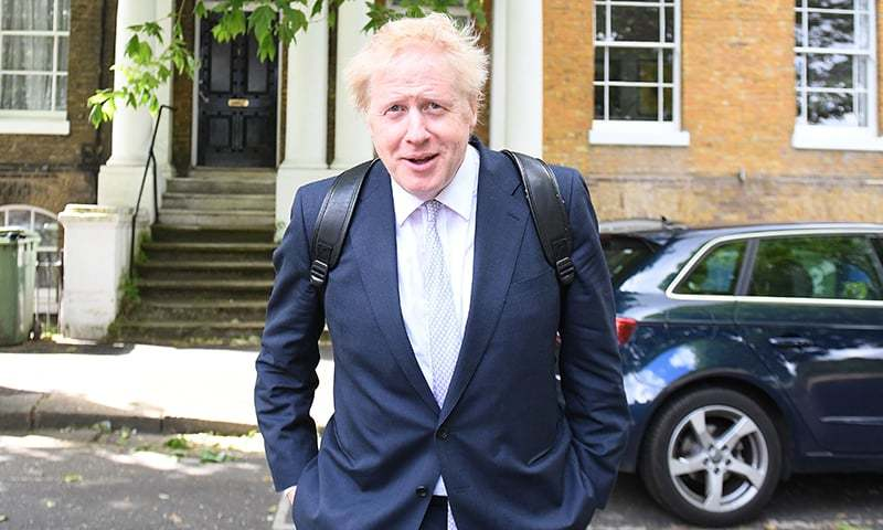The newly elected British Prime Minister Boris Johnson has a Muslim ancestral history and his grandparents were among the most important figures of the former Ottoman Empire, according to BBC Urdu.  — AFP/File