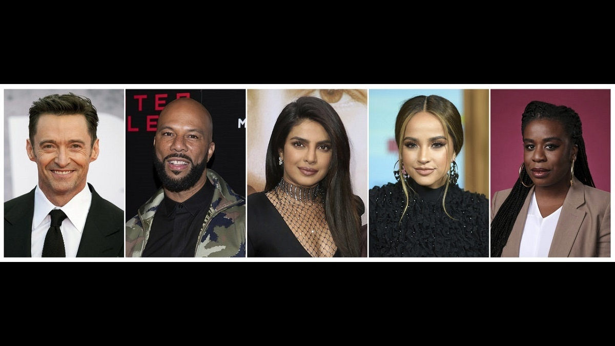 A list of all the celebrities who will feature in the Nat Geo series