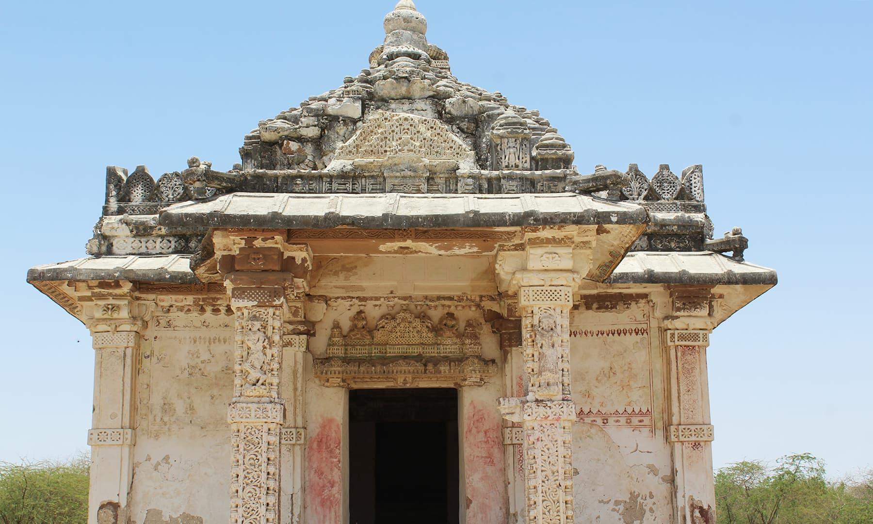 ویرا واہ مندر—تصویر اختر حفیظ