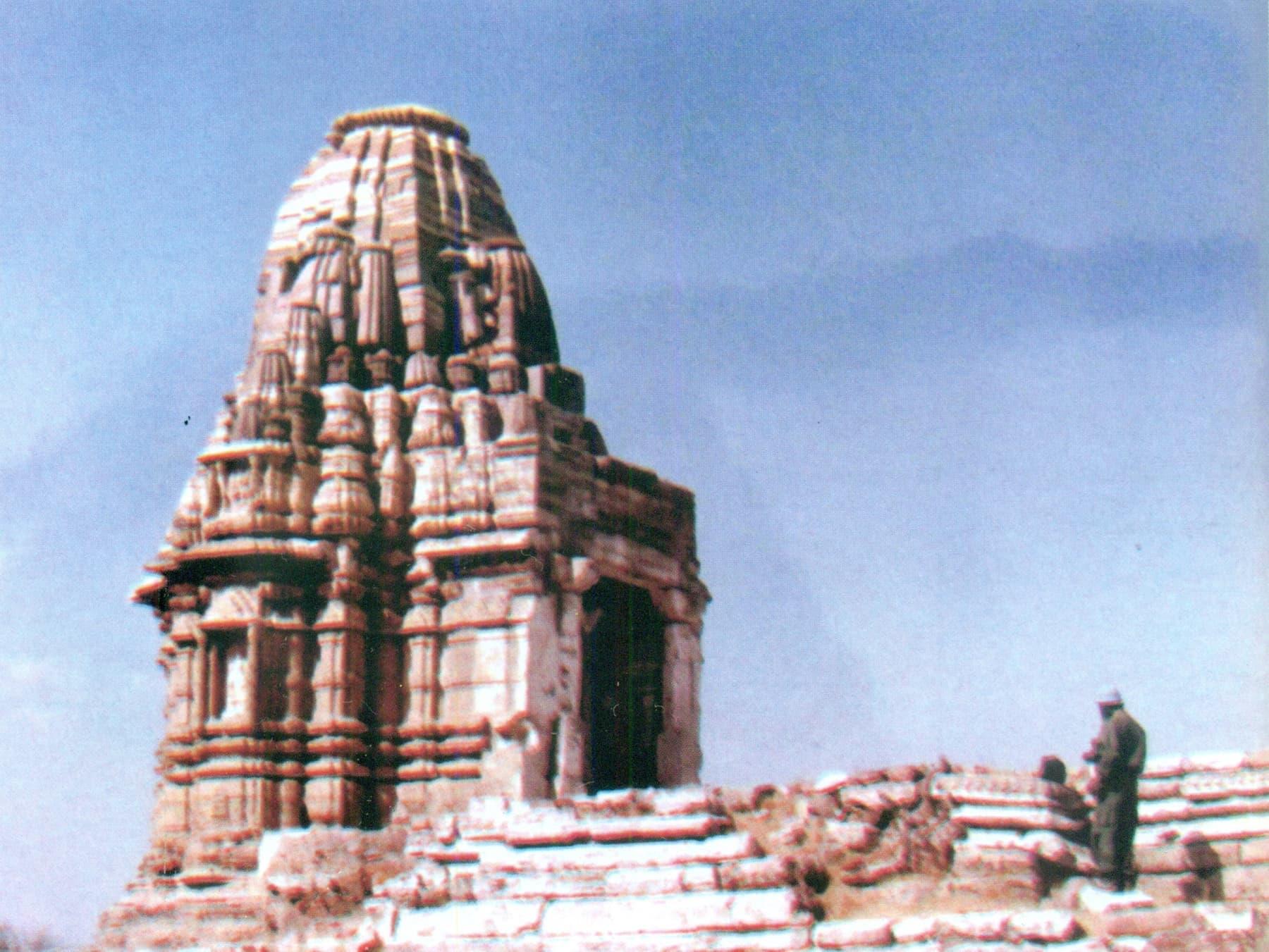 جین مندر کی 1991ء میں عکس بند کی جانے والی ایک تصویر—بشکریہ بدر ابڑو