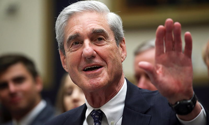 Former Special Counsel Robert Mueller testifies before a House Judiciary Committee hearing on the Office of Special Counsel's investigation into Russian Interference in the 2016 Presidential Election on Capitol Hill in Washington, US, July 24. — Reuters