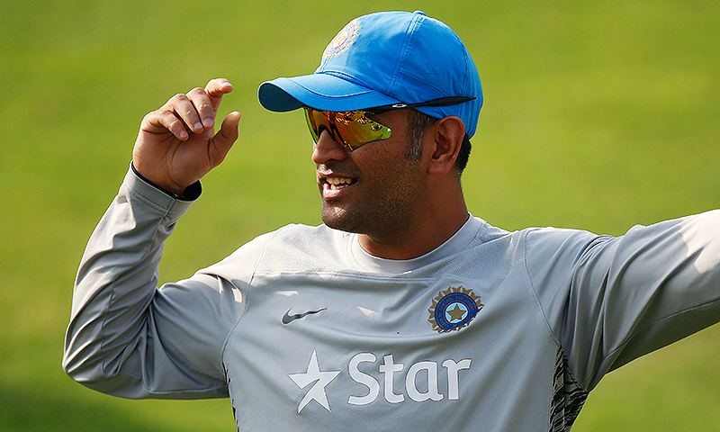 """Dhoni will be deployed in Kashmir with his regiment between July 31 and August 15,"" an army source says. — AP/File"