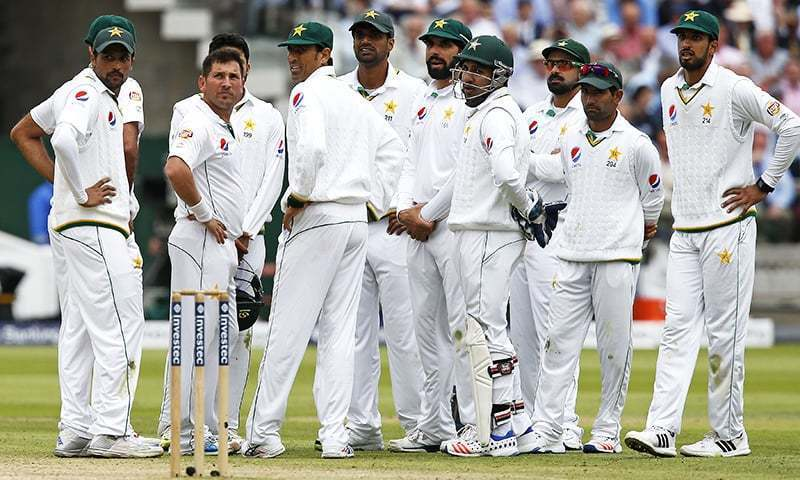 Image result for Pakistan in Test cricket start pcb