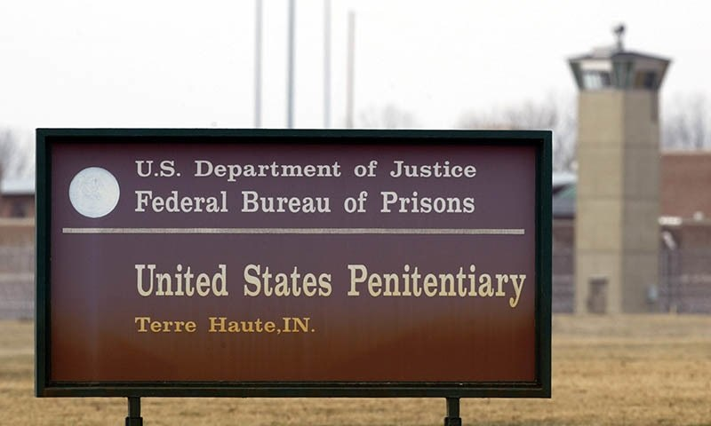 امریکی حکومت نے قتل کے جرائم میں ملوث 5 قیدیوں کی سزائے موت پر عمل در آمد کی تاریخ طے کردی — اے پی/فائل فوٹو