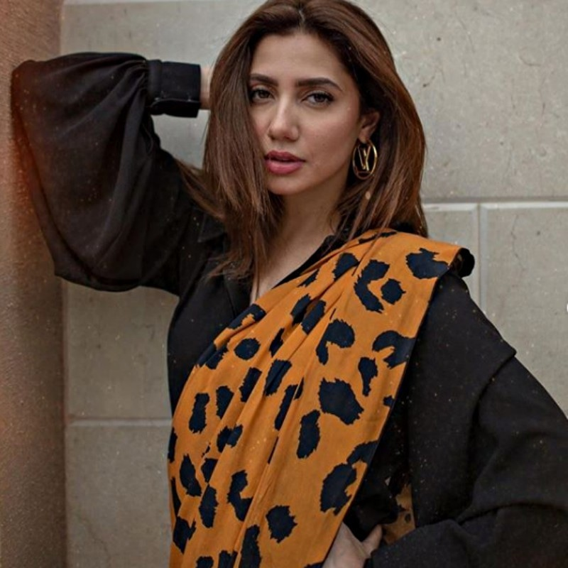 Mahira stealing the show in cheetah print
