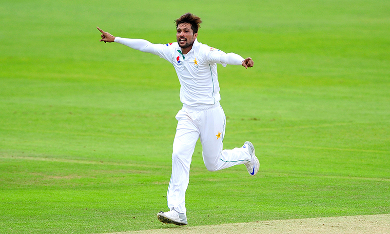 Bowler Mohammad Amir announces retirement from Test cricket