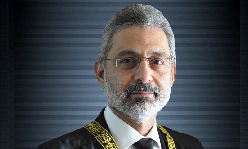جسٹس قاضی فائز کو اظہارِ وجوہ کے نوٹسز 17 جولائی کو موصول ہوئے تھے—تصویر: عدالت عظمیٰ ویب سائٹ