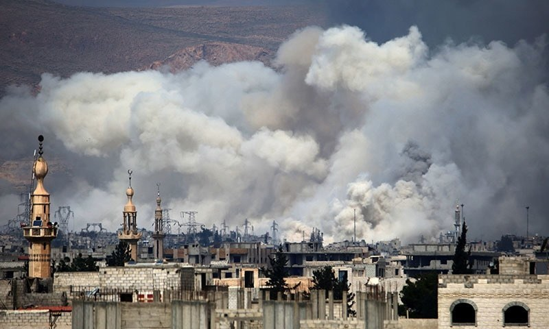 Syria air strikes have killed 100 civilians in 10 days: UN