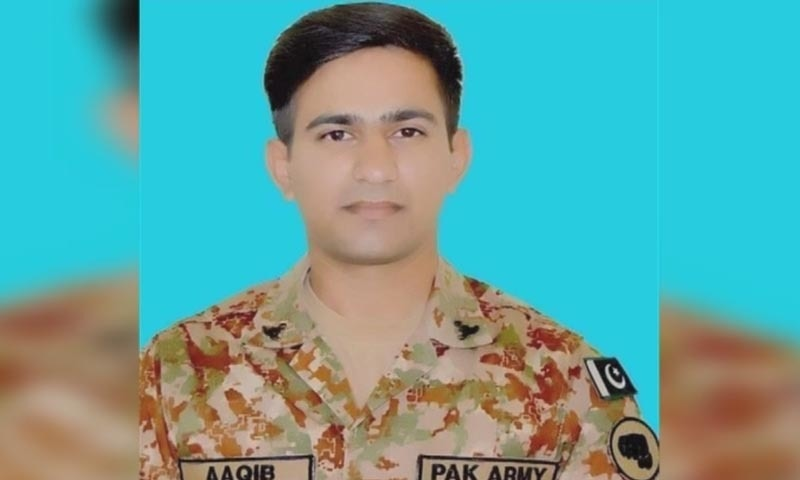 Captain among 10 soldiers martyred in two terrorist attacks