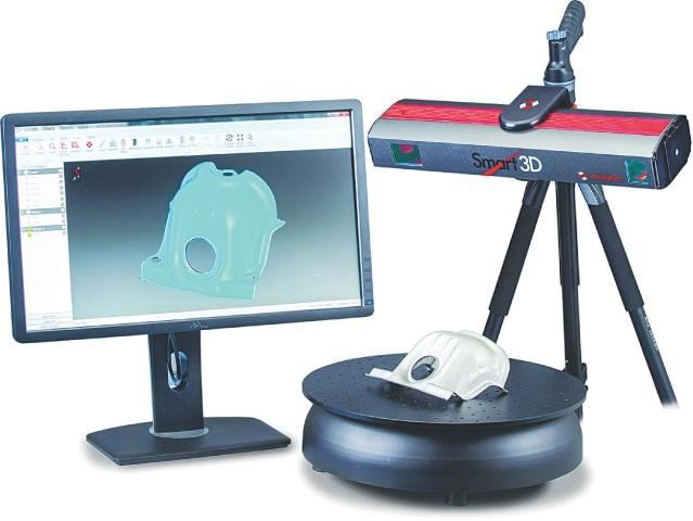 3D Reverse Engineering Laser Scanner | Perceptron