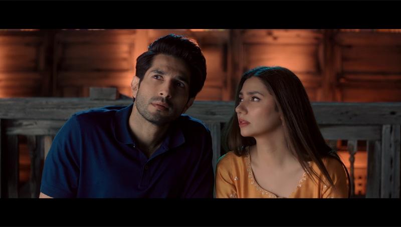 Bilal Ashraf and Mahira Khan
