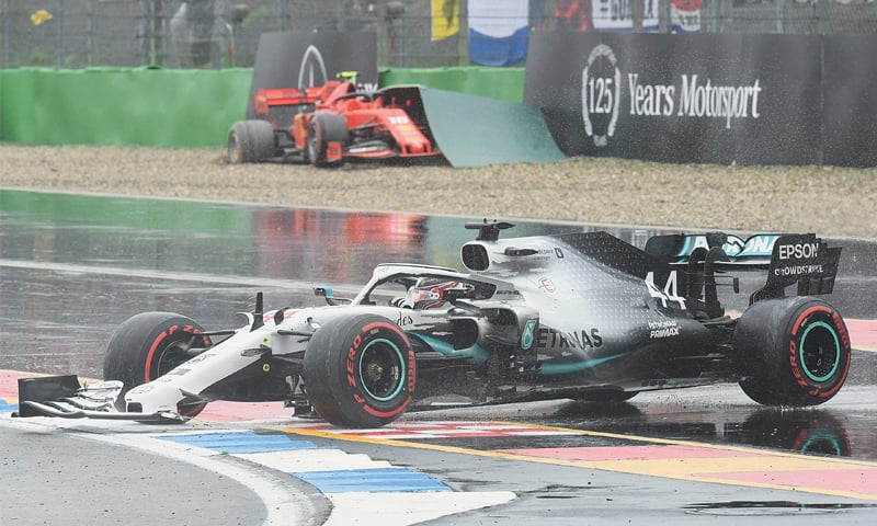 Verstappen wins chaotic German Grand Prix