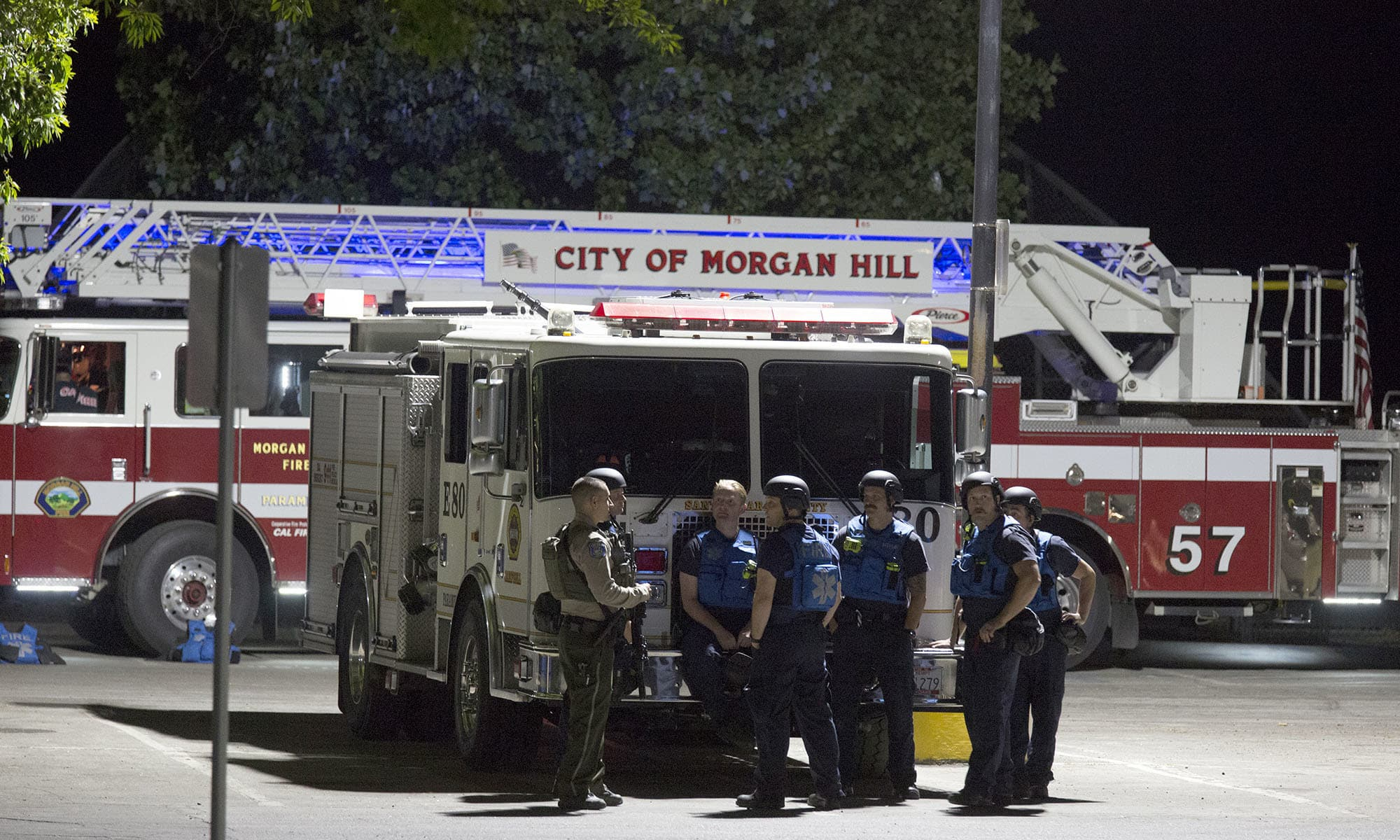At least 15 injured; shooter used a rifle and gained entry to the packed festival by cutting through a fence. — AP