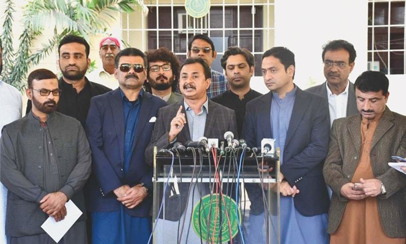 Accumulation of rainwater in province indicates that Sindh government is not interested in solving the problems: Sheikh. — APP/File
