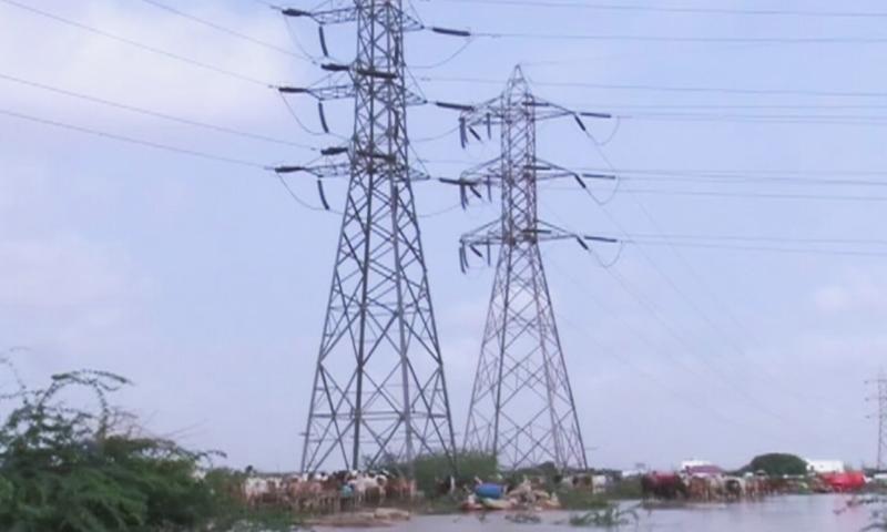 شہر کے مختلف علاقوں میں بجلی کی فراہمی معطل رہی—اسکرین شاٹ