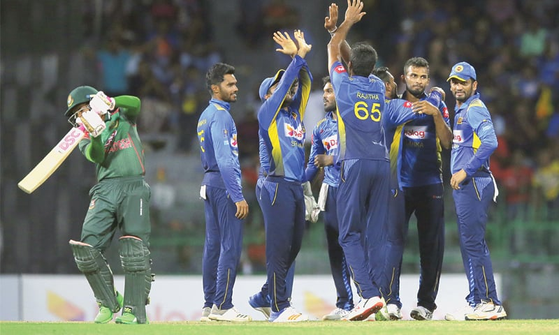 Mathews leads Sri Lanka to series sweep against Bangladesh