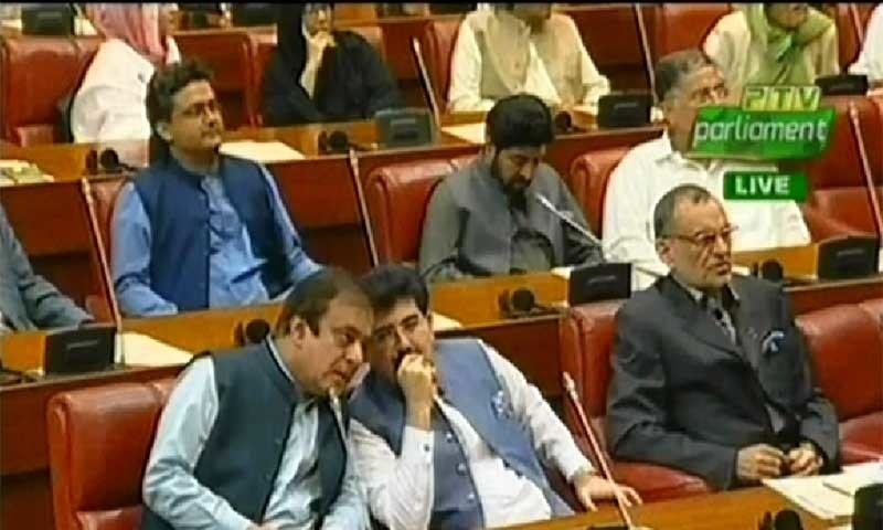 Sadiq Sanjrani survives no-confidence vote in shock victory; opposition falls 3 short