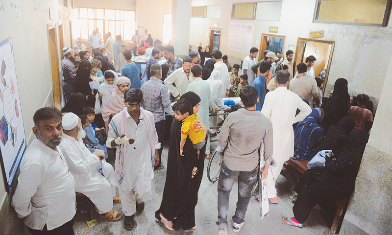 The number of doctors registered with the Pakistan Medical and Dental Council stood at 258,747 till June 30, 2019. — Dawn/File