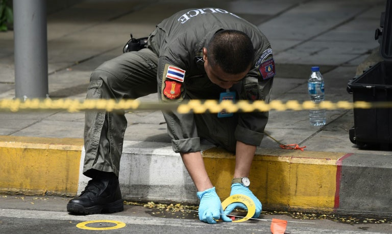 6 bomb blasts hit Bangkok as city hosts major security meeting
