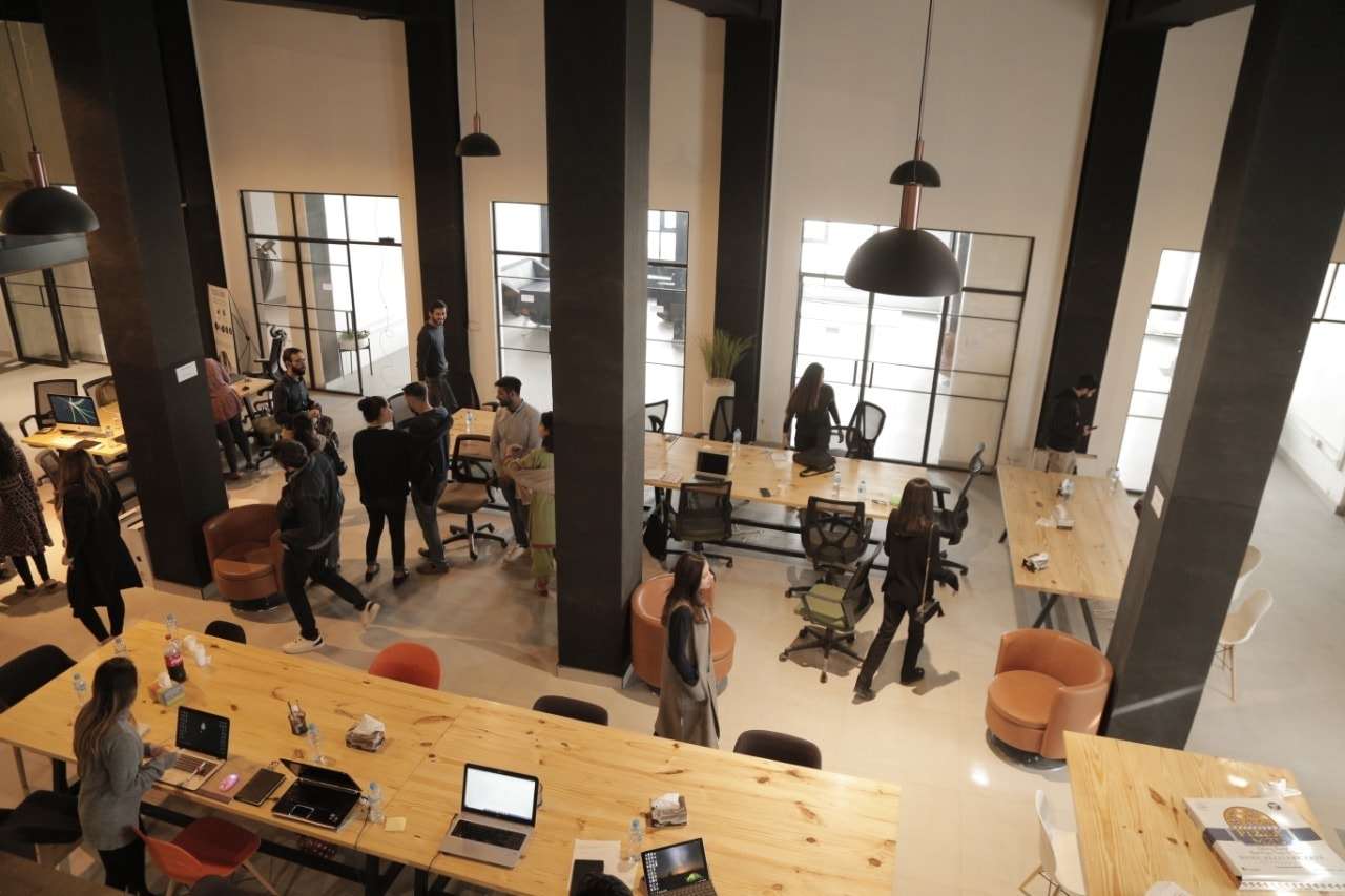 In co-working spaces, members can come together to work, socialize and have fun in an organic, constructive way.—COLABS