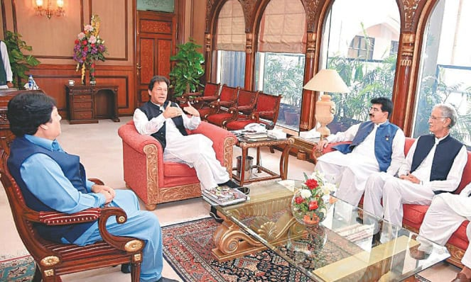 Vote shows Senate has confidence in Sanjrani's abilities: PM