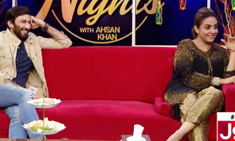 نادیہ خان نے اعجاز اسلم کی اداکاری کی بھی تعریف کی—اسکرین شاٹ/ یوٹیوب