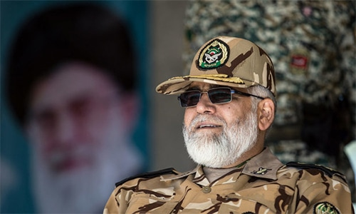 Iran general says chances of Gulf conflict decreasing