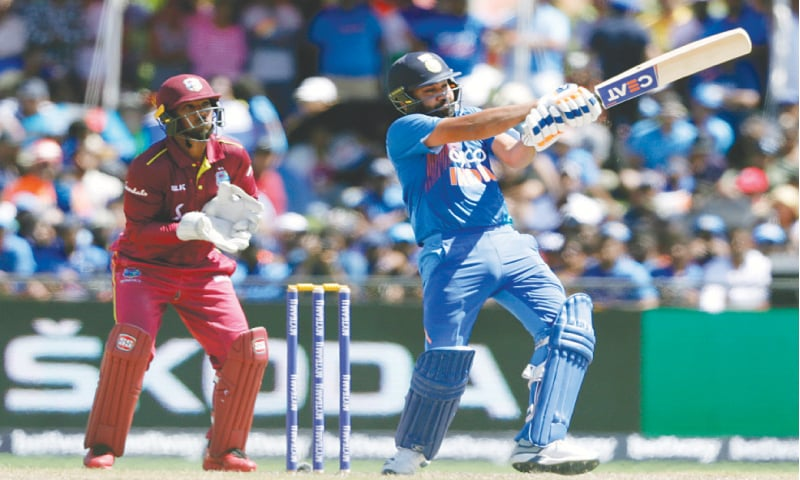 Sharma stars as India seal T20 series against West Indies
