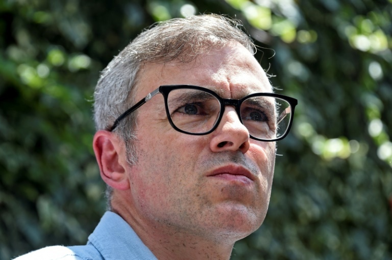 Former occupied Kashmir CM Omar Abdullah was detained on Monday. — AFP