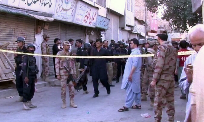 One killed, 10 injured in blast on Quetta's Mission Road