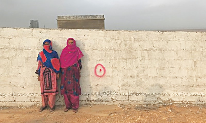 A small village in Bahria fights for its life - Newspaper