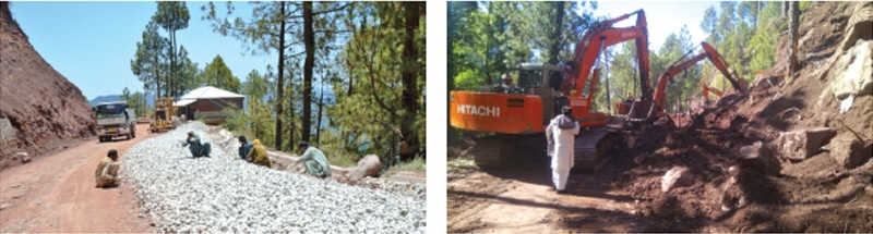 Work on Lower Topa-Kohala Road was started over two years ago, but has still not been completed. — Dawn