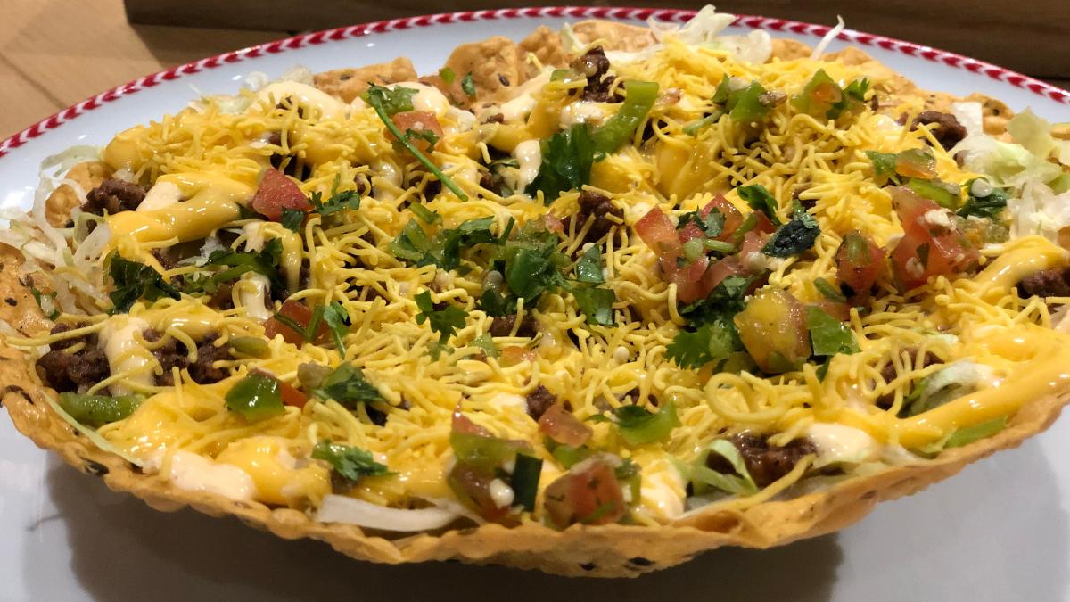 A desi take on a loaded taco? Feed me more!