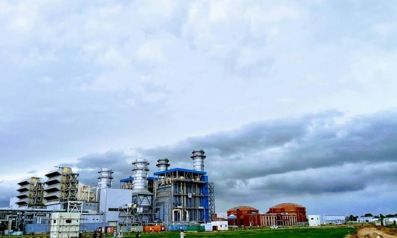THIS file photo shows RLNG-based 1,233MW Balloki Power Plant near Chunian in Punjab.