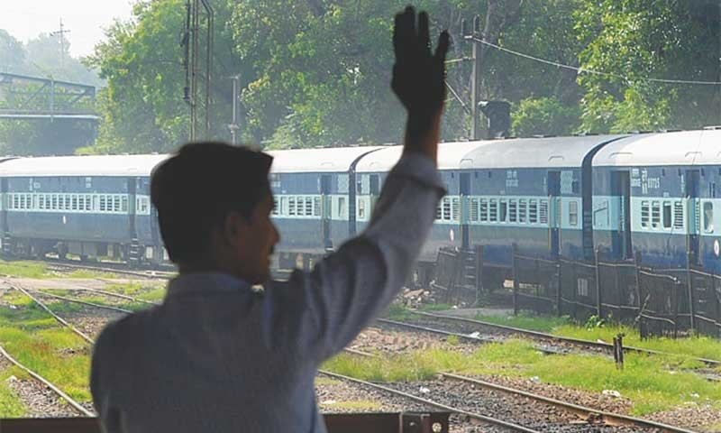 Samjhauta Express train service suspended