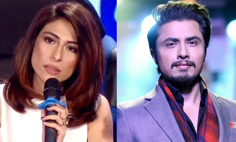 Meesha Shafi has accused Ali Zafar of sexual harassment. — Dawn.com/File