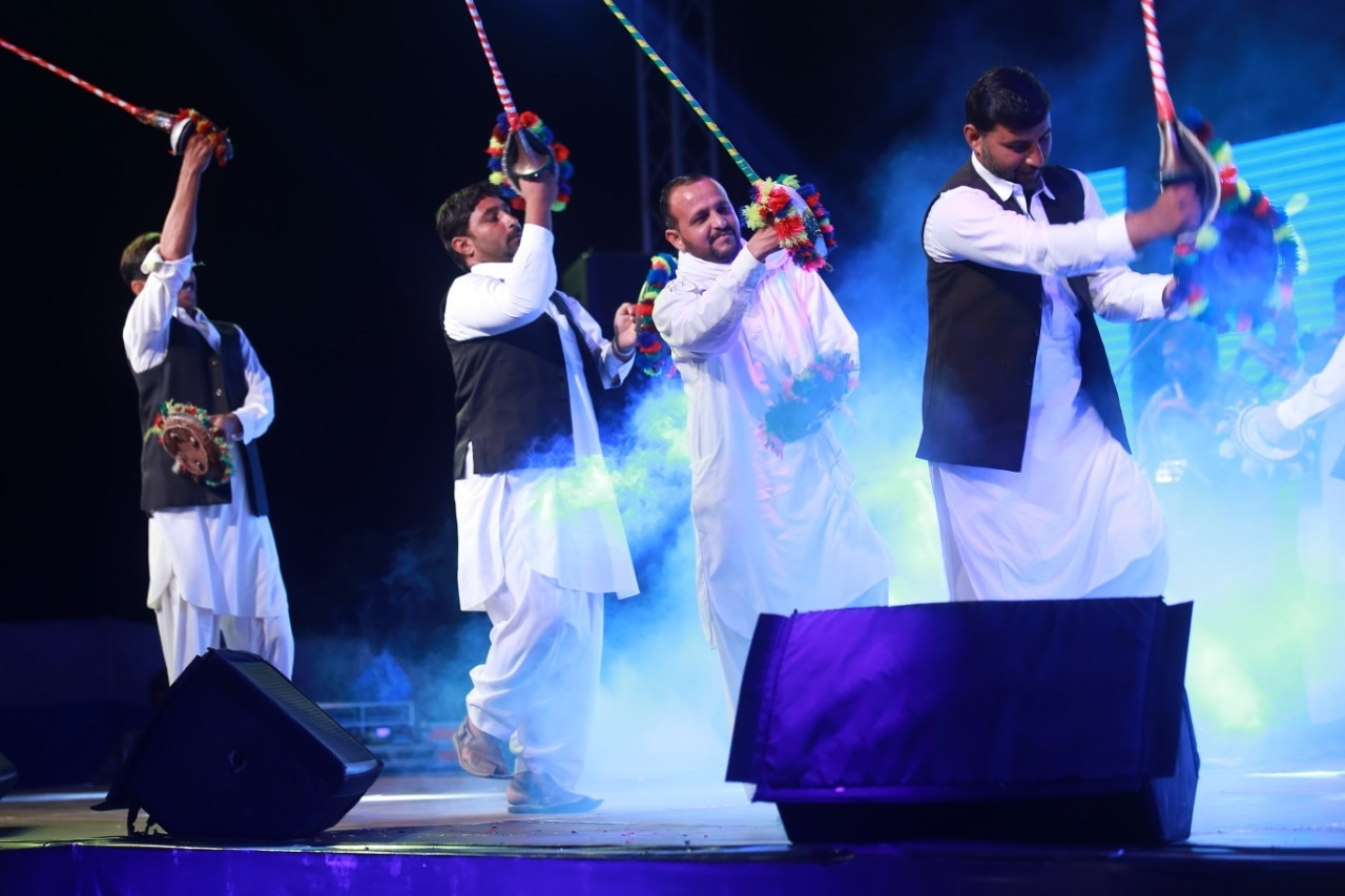 Folk dance and cultural performances paid homage to the traditions of the region.