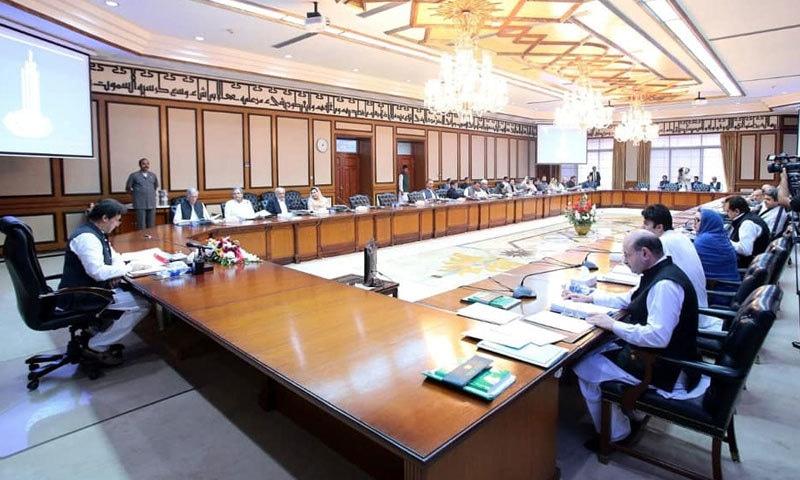 کابینہ نے سمجھوتہ ایکسپریس بند کرنے کے فیصلے  کی توثیق کدی — فوٹو: بشکریہ عمران خان فیس بک پیج