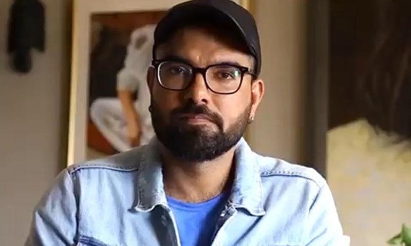 یاسر حسین نے پاکستانی اداکاروں سے بولی وڈ کے بائیکاٹ کی اپیل کردی —فوٹو/ انسٹاگرام