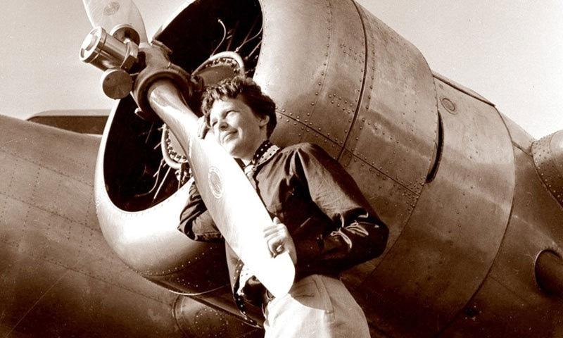 امیلیا ایرہارٹ 1937 میں لاپتہ ہوگئی تھیں—فوٹو: کولمبیا ڈاٹ کام