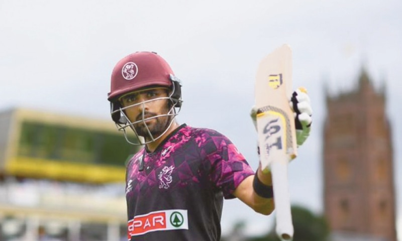 BABAR Azam ... in red hot form for Somerset.