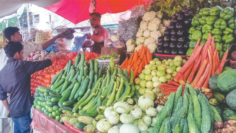Vegetable prices go up ahead of Eid