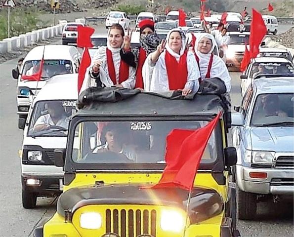 An election rally in Landi Kotal. — File photo