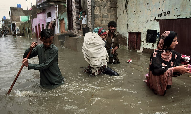 'Urban disaster': Karachiites decry govt mismanagement as rainwater transforms roads into rivers