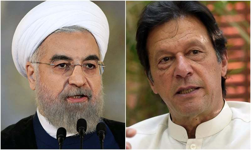 Prime Minister Imran Khan called Iranian President Hassan Rouhani on Sunday to apprise him of the situation in occupied Jammu and Kashmir. — AFP/File